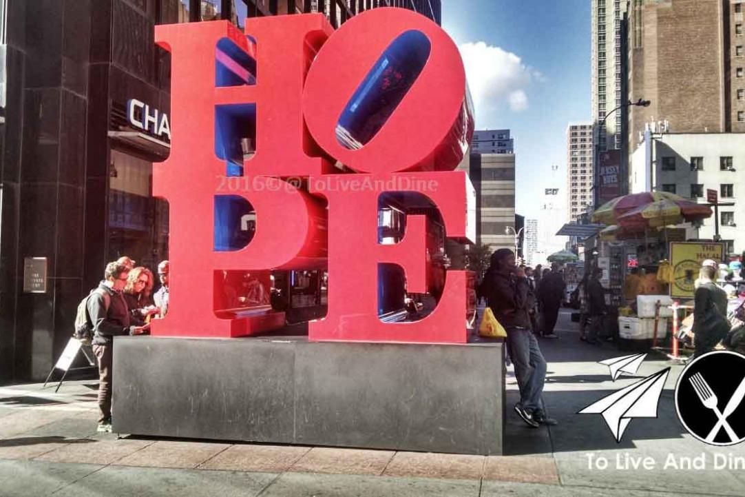 Hope Sculpture NY
