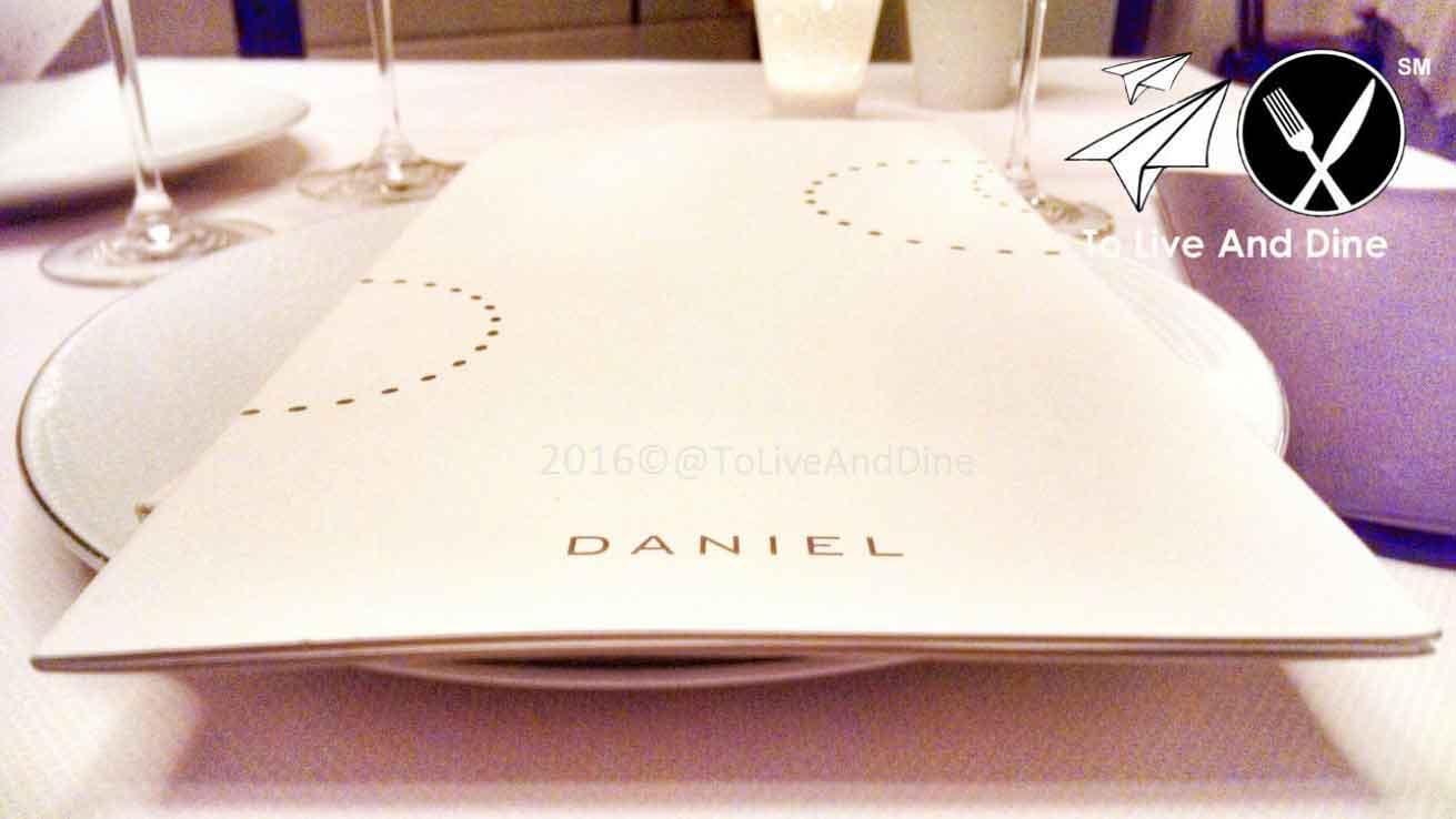 Daniel Restaurant NYC