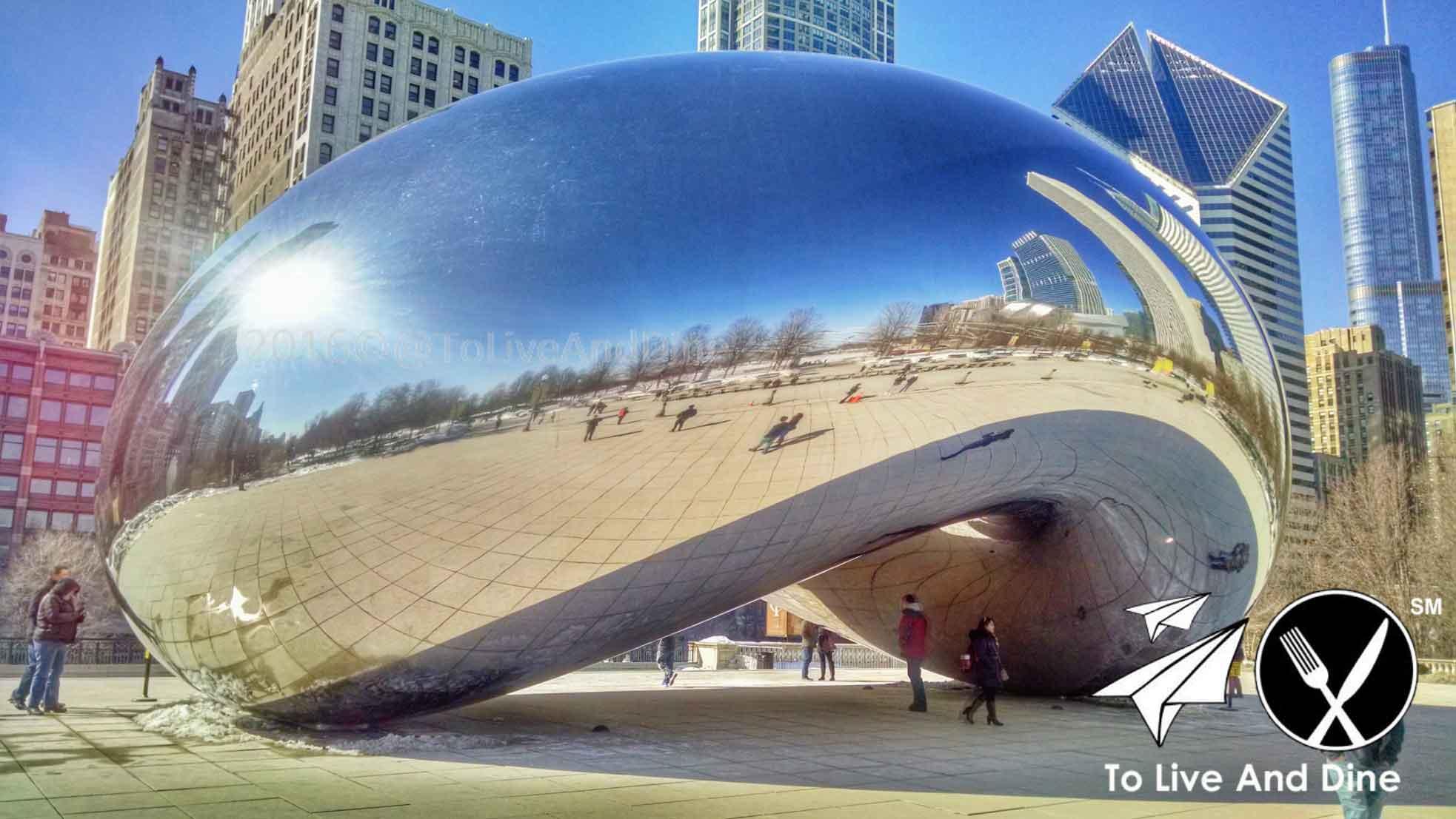 The Bean aka Cloud Gate Chicago