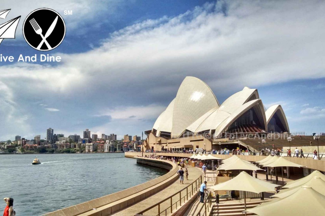 The view of the Sydney Opera House