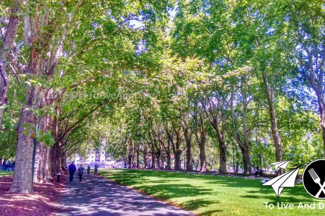 Carlton Gardens Melbourne