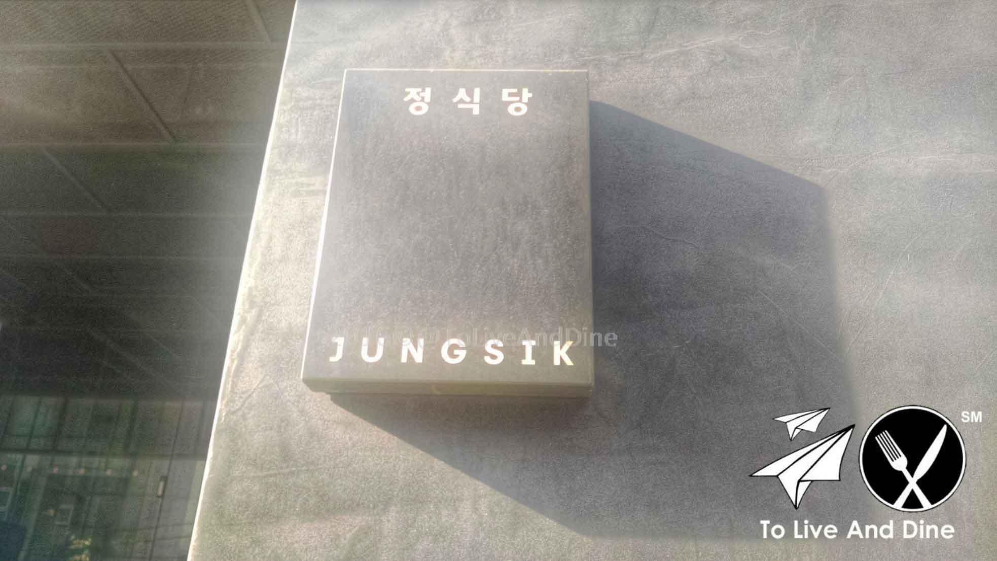 Jungsik Seoul South Korea