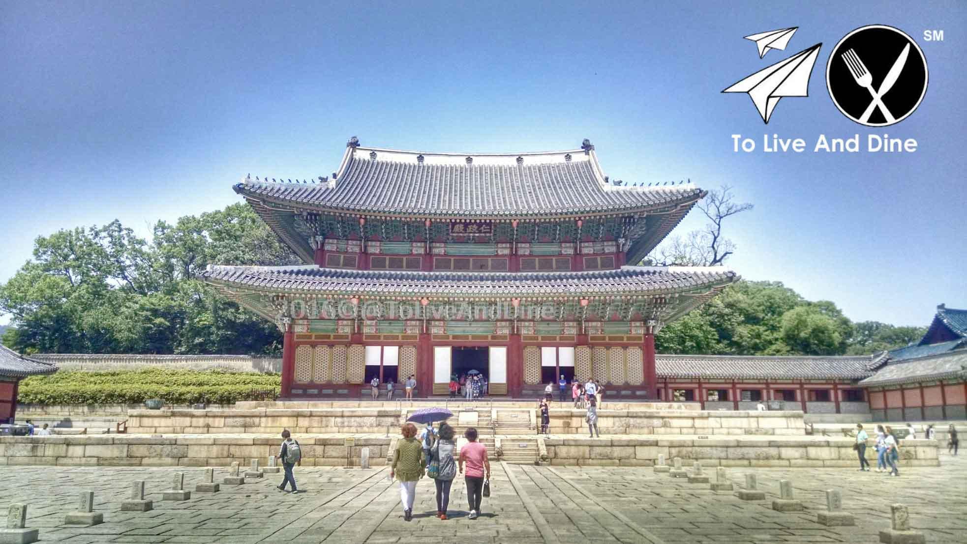 The main pavillion