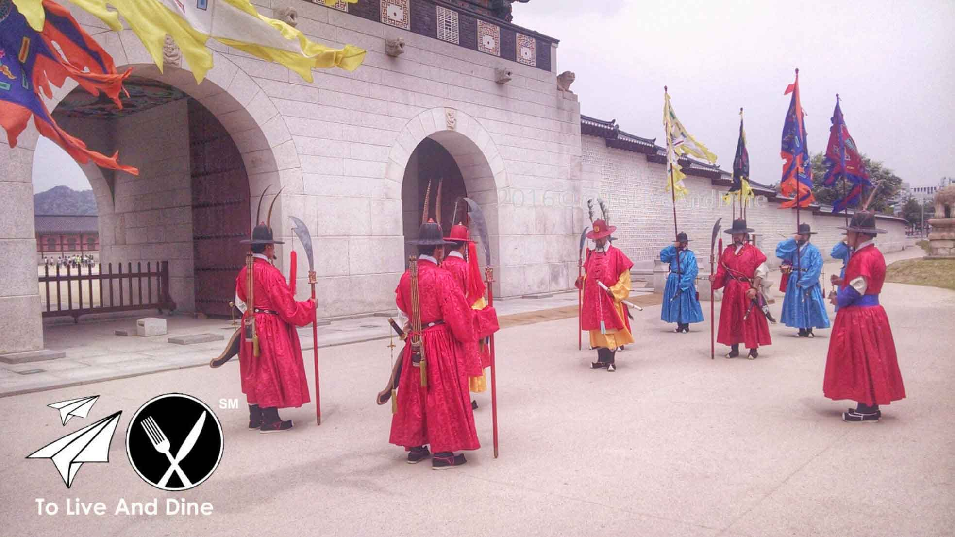 Gyeongbokgung Palace Changing of guards
