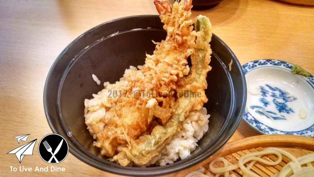Shrimp Tempura In Japan